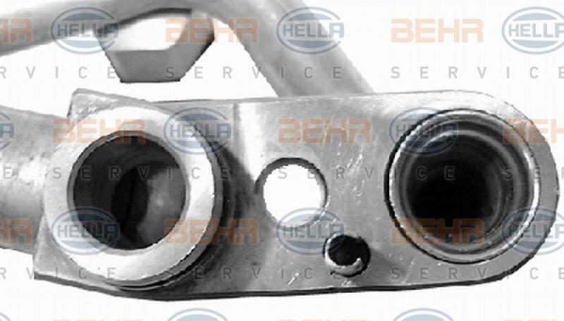HELLA Hochdruck-/Niederdruckleitung, Klimaanlage