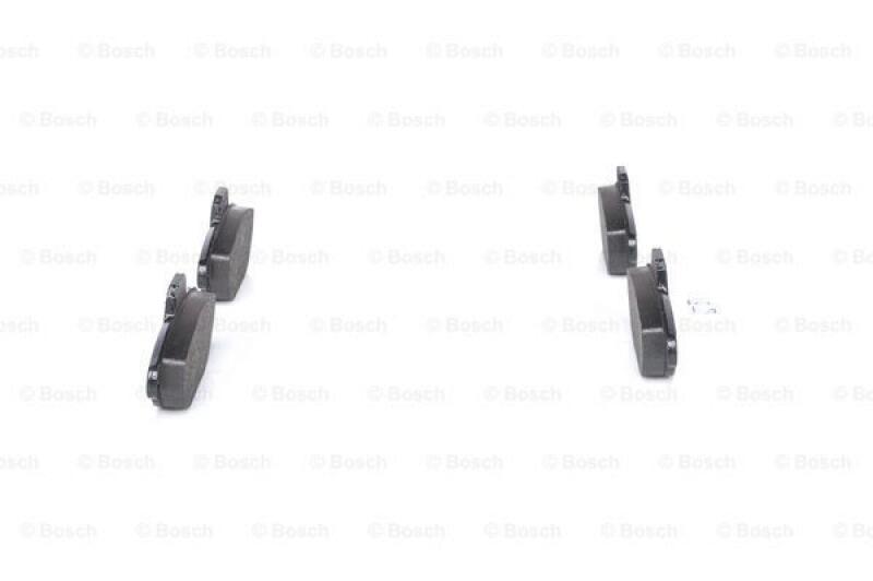 bosch 4x bremsbel ge bremsbelagsatz 0 986 461 119. Black Bedroom Furniture Sets. Home Design Ideas